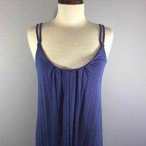 Cynthia Rowley Blue Maxi Dress Sz M
